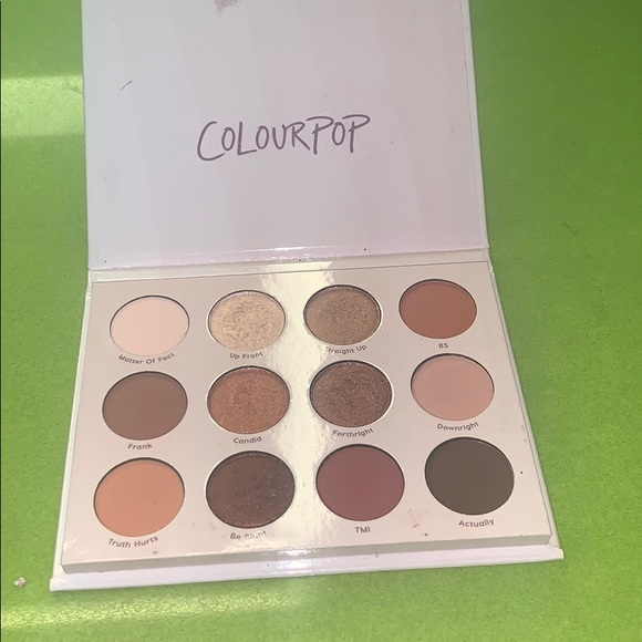 "Colourpop Other - Colourpop ""give it to me straight"" palette"